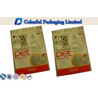 Buy cheap Three Side Seal Ziplock Pet Food Packaging pouch Food Grade for dog food from wholesalers