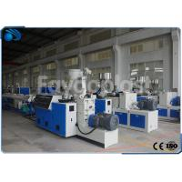 Buy cheap Single Screw Plastic Pipe Manufacturing Machine For 16-63mm PP HDPE Water Supply Pipe from wholesalers