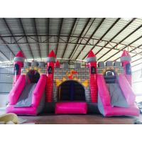 Buy cheap 12m x 10m Castle Inflatable Dry Slides Dragon Cartoon Fireproof High Tension from wholesalers