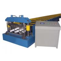 Buy cheap Fully Automatic Galvanized Steel Roll Forming Machine For Roof Deck Working 8-12m/min from wholesalers