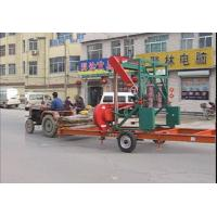 Buy cheap MJ1000E/MJ1000D horizontal bandsaw portable sawmill wood cutting used mobile sawmills from wholesalers