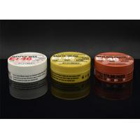 Buy cheap 100ml Corlorful Handy Empty Personal Care Plastic Hair Wax Cream Jar from wholesalers