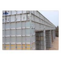 Quality Building Formwork Steel Scaffolding Systems Alloy 6061 T6 Silver Aluminium for sale