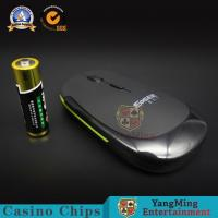 Buy cheap 2.4GHz Baccarat Gambling Systems Black CPI Resolution Driver Optical Casino Computer PC Wireless Mouse from wholesalers