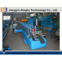 Buy cheap High Efficient C Purlin Roll Forming Machine , Steel Purlin Making Machine from wholesalers