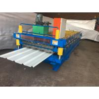Buy cheap Color Steel Corrugated Iron Roller Machine 13 Rows For Roof / Wall Panel from wholesalers