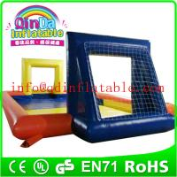 Buy cheap Inflatable Football Field For inflatable soap football field inflatable water soccer field from wholesalers