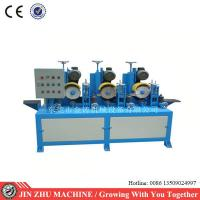 Buy cheap Square Tube Automatic Grinding Machine , Surface Grinding Machine Dry Polishing from wholesalers