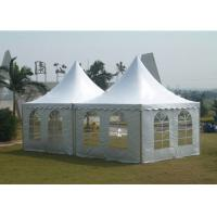Buy cheap White Color Garden Party Tent , Outside Wedding Tents Fast Install / Dismantle from wholesalers