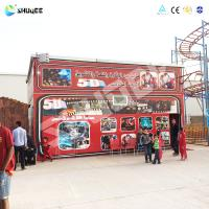 Buy cheap Virtual Reality Kino 5D Cinema 5D Simulator With Spray air / Water product