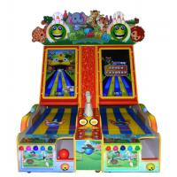Buy cheap Electronic Coin Operated Arcade Bowling Machine Indoor  L258 * W158 * 263 CM from wholesalers