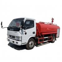 Buy cheap HOT SALE! DONGFENG Fire fighting tanker truck with 5,000 Liters for sale, good price water tanker fire fighting truck from wholesalers