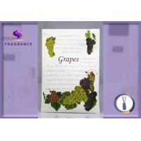 Buy cheap Eco - Friendly Drawer Fragrance Sachet , 27g Grapes Scented Sachet Envelopes from wholesalers
