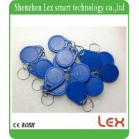 Buy cheap EM4100 / TK4100 chip Keyfob Ring keychain Proximity ABS Contactless Key Fob Chip 125Khz ISO11785 Standard from wholesalers