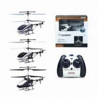 Buy cheap RC Die Cast Helicopters with Camera, Sized 31 x 11.2 x 30cm, 4G Memory Card from wholesalers
