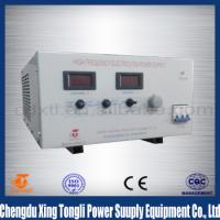 Buy cheap 12V 200A Electrolysis polarity reversing Switching Rectifier from wholesalers