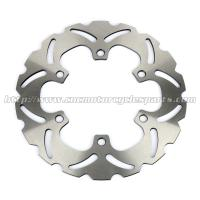 Buy cheap 240mm Motorcycle Brake Disc Rotor For Front Left / Right Position product