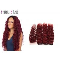 Buy cheap Free Tangle Virgin Human Hair Bundles Health Machine Double Weft Fullness from wholesalers