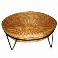 Buy cheap Bread basket, made of willow, round shape, wicker storage basket, eco-friendly from wholesalers
