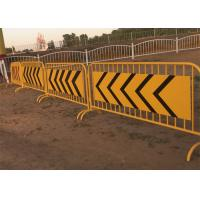 Buy cheap Used Exhibition Welded Pipe Metal Crowd Control Barrier product