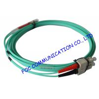 Buy cheap 10Gb OM3 LSZH LC SC Single Mode Fiber Patch Cable For Telecommunication Networks from wholesalers