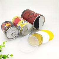 Buy cheap Matt Lamination Easy Open Paper Composite Cans For Dried Fruit / Food Powder from wholesalers