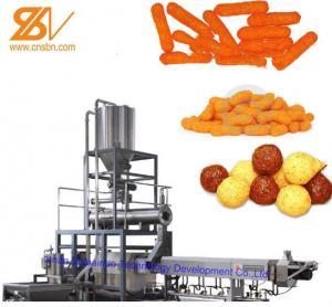 China Professional Corn Puff Making Machine Corn Pops Production Equipment Line on sale