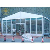 Buy cheap Glass Sidewalls Aluminium Frame Tent Fashionable Style 500-700 People Capacity from wholesalers