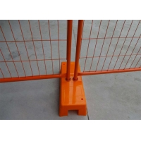 Buy cheap 2.1x2.4m Temporary Metal Fence Australia Portable Chain Link Fence Panels from wholesalers