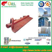 Buy cheap Power Plant CFB Boiler Header / Boiler Low Loss Header High Temperature from wholesalers