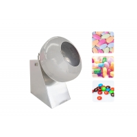 Buy cheap Snack Product Output 150kg/H Mini Chocolate Coating Machine from wholesalers