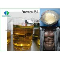Buy cheap Yellow Liquid Injectable Anabolic Steroids Testosterone Sustanon 250 For Male Enhancement from wholesalers