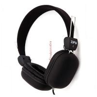 Buy cheap Universal square ear cover Sport MP3 Wired Headphone for music and PC Computer game in black from wholesalers