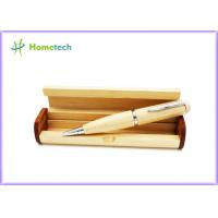 Buy cheap 2 In 1 Multifunction Wooden USB Flash Pen Drives 4gb 8gb With Gift Box / Personal Logo from wholesalers