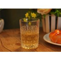 Buy cheap Sun Flower Design Water Glass Tumbler for Juice , small whiskey glass from wholesalers