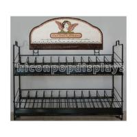 Buy cheap Sturdy Wire Frame Cosmetic Display Stand Custom 144 Bottles Nail Polish Display Stand from wholesalers