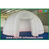 Buy cheap OD 5m Inflatable Air Tent White , Inflatable Dome Tent For Exhibition from wholesalers