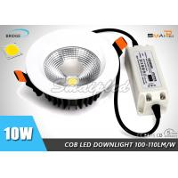 Buy cheap Surface Mounted / Recessed Round Dimmable LED COB Downlight 10W IP44 from wholesalers