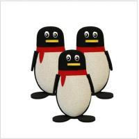 Medium Hardness Interactive Educational Toys Penguin Bowling Ball For Children