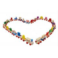 Buy cheap Wooden Educational Track Toys Educational Toys Wooden Number Train Toy Child Track Train from wholesalers