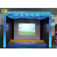 Buy cheap Double Projector 3D Game Machine AR Interactive Projector Game Park On Floor / Wall product