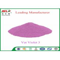 Buy cheap Customized Wool Permanent Fabric Dye C I Vat Violet 3 Vat Violet RRN from wholesalers