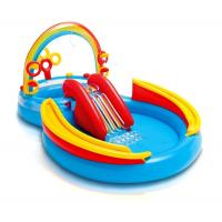 Buy cheap Ages 2+ Inflatable Water Slides vinyl Rainbow Ring Play Center 117 X 76 X 53 from wholesalers