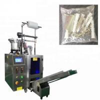 Buy cheap Screw Fastener Hardware Packaging Machine With Counting Plate 30-70bags/min from wholesalers