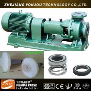 Buy cheap IHF Horizontal PTFE Lining Fluoro Plastic Centrifugal Pump, Acid Chemical Pump product