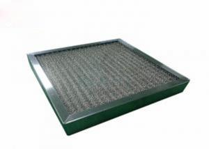Buy cheap Washable High Temperature Pre Air Filter Corrosion Resistant With SUS Frame product