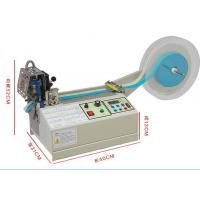 Buy cheap Automatic Webbing Strap/Ribbon Belt Strap Cutting Machine/Webbing Cutting Machine Label Cutter from wholesalers