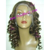 Buy cheap 100% Virgin Remy Hair Full Lace Wig from wholesalers
