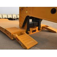 Buy cheap Waterproof Moisture - Proof Lowboy Heavy Equipment Trailers With Steel Mud Guard from wholesalers