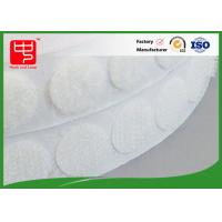 Buy cheap Rounded cutting Custom Hook and Loop Patches hook and loop dots with glue backing from wholesalers